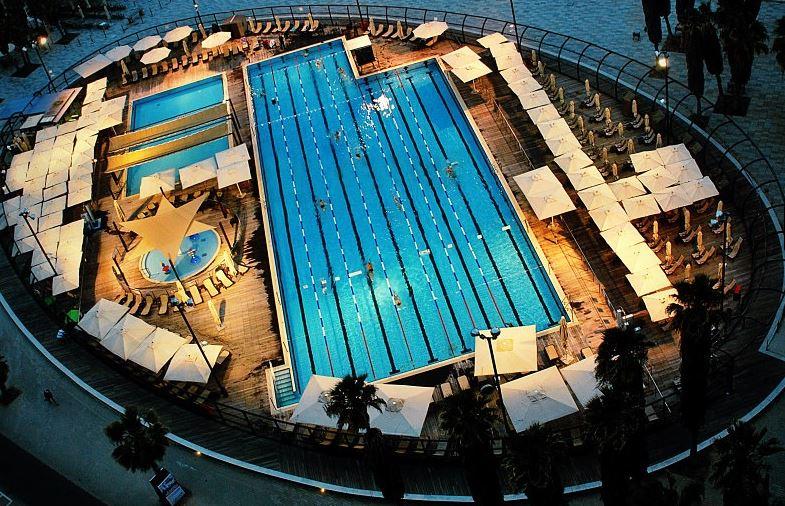 Gordon Pool. Tel Aviv