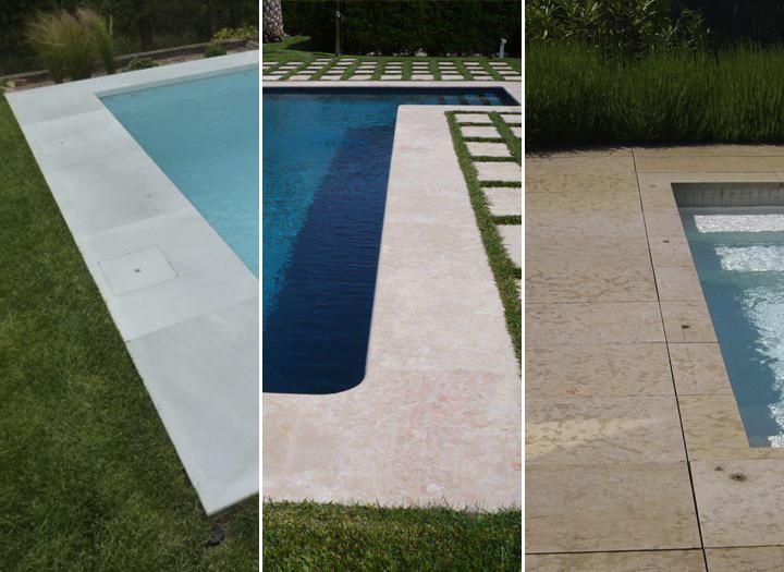 Pavimentos para realizar la coronaci n y terraza de la - Pavimentos para piscinas exteriores ...