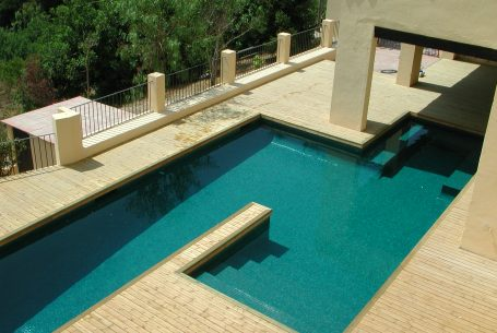Two swimming pools in one