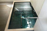 Piscina lúdica en zona de aguas