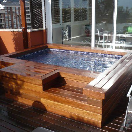 piscinas para terraza