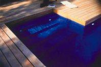 Una piscina de película
