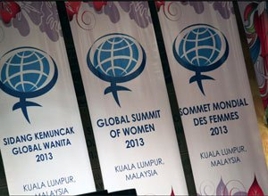 Regreso del Global Summit of Women 2013