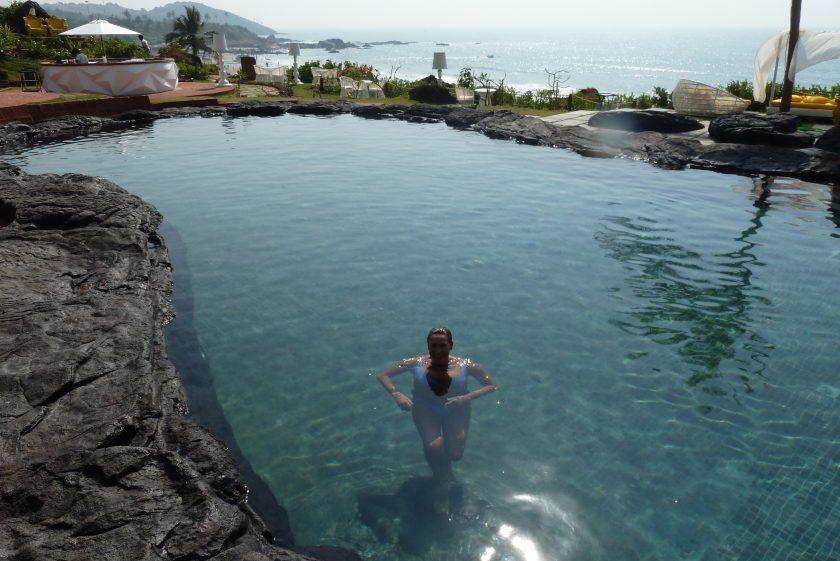 Piscinas del Hotel Starwoods W Goa – India